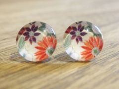 Art Glass No. 25 - stud earrings
