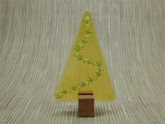 Christmas tree No. 25 (handmade glass/Jarrah)