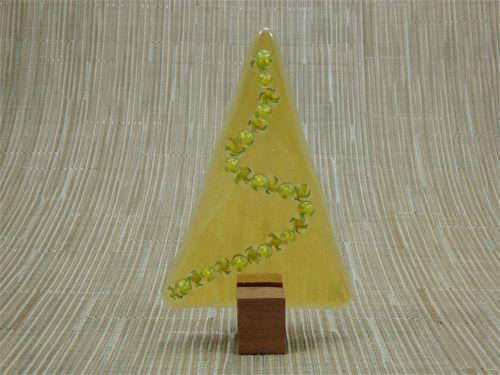 Christmas Tree No 25 Handmade Glass Jarrah Nv Glass Designs