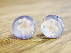 Art Glass No. 10 - stud earrings