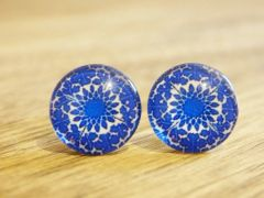 Art Glass No. 52 - stud earrings