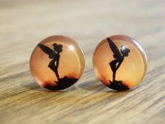 Art Glass No. 16 - stud earrings