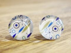 Art Glass No. 22 - stud earrings