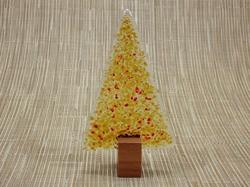 Christmas Tree No 22 Handmade Glass Jarrah Nv Glass Designs