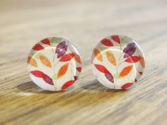 Art Glass No. 27 - stud earrings
