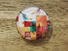 Art Glass No. 93 - fridge magnet