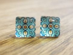 Art Glass No. 45 - stud earrings