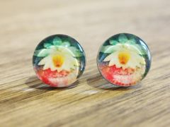 Art Glass No. 34 - stud earrings