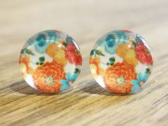 Art Glass No. 33 - stud earrings