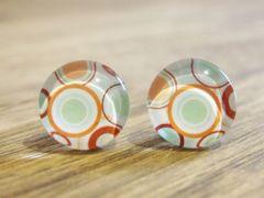 Art Glass No. 6 - stud earrings