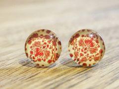Art Glass No. 29 - stud earrings