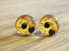 Art Glass No. 1 - stud earrings