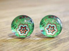 Art Glass No. 47 - stud earrings
