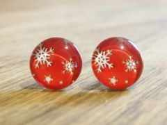 Art Glass No. 23 - stud earrings