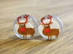 Art Glass No. 12 - stud earrings