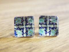 Art Glass No. 55 - stud earrings