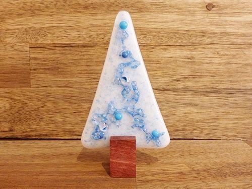 Christmas Tree No 61 Handmade Glass Jarrah Nv Glass Designs