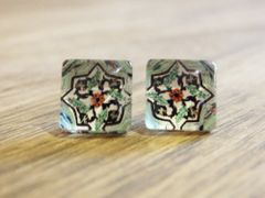 Art Glass No. 36 - stud earrings