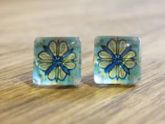 Art Glass No. 31 - stud earrings