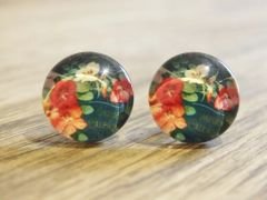 Art Glass No. 20 - stud earrings