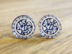 Art Glass No. 50 - stud earrings