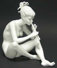 "Collectibles - Kaiser Porcelain's ""Girl With Flute"""