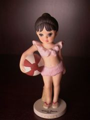 "Collectibles - Keane's ""At The Beach"" - Margaret Keane Children Collection by David Grossman - Limited Edition"