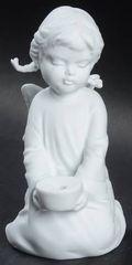 "Collectibles - Kaiser Porcelain's ""Angel Candleholder"""