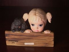 "Collectibles - Keane's ""Watching"" - Margaret Keane Children Collection by David Grossman - Limited Edition"