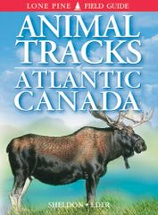 Book - Animal Tracks of Atlantic Canada by Ian Sheldon & Eder