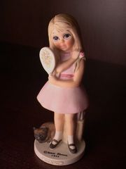 "Collectibles - Keane's ""Before the Party"" - Margaret Keane Children Collection by David Grossman - Limited Edition"