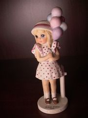 "Collectibles - Keane's ""Balloon Girl"" - Margaret Keane Children Collection by David Grossman - Limited Edition"