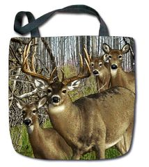 "Tapestry - ""Deer - Harem"" - Tote Bag, 17x17"
