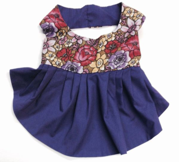 Spring Flowers Dress - Medium