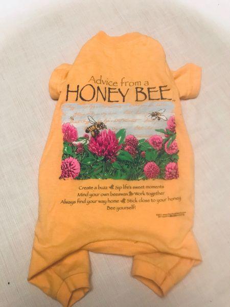 Honey Bee Pet Tee Jammie - Standard Small