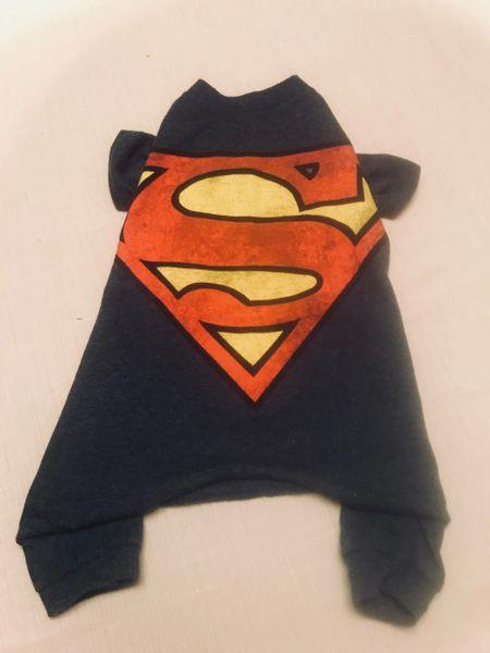 Superman Tee Jammie - Standard Small