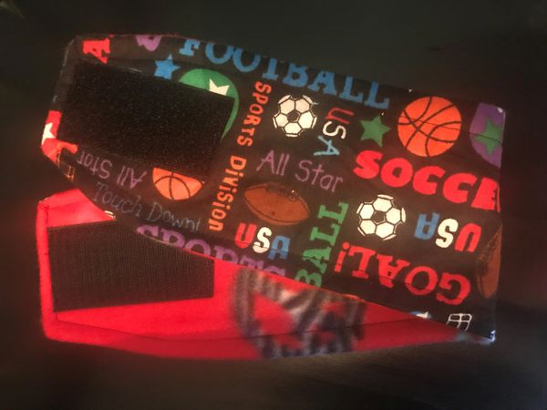 Sportsfan Belly Bands for Male Dogs - Medium
