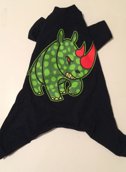 Dotted Rhino Pet Tee Jammie - Standard Large