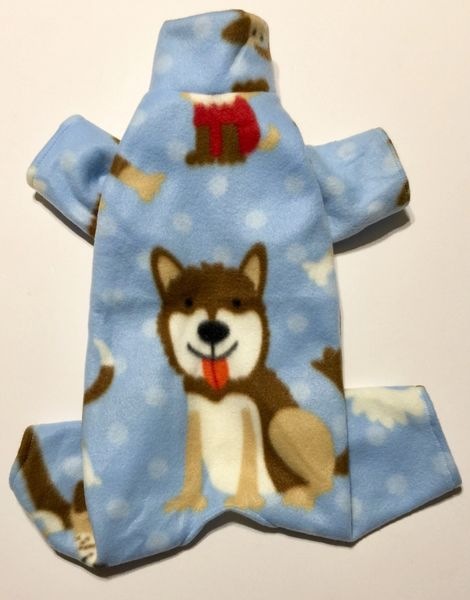 Happy Puppies Pet Jammie - Standard Sizes Small, Medium