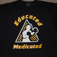 Educated Medicated T-Shirts - Mens