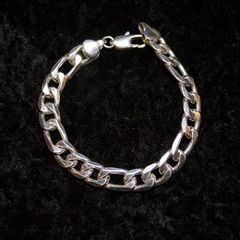 Unisex .925 Sterling Silver Bracelet
