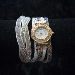 1pc Rinestone Bracelet womens watch