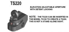 Tech-Sight TS220 Elevation Adjustable Aperture