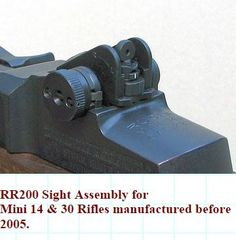 Tech-Sights RR200 Kit for Pre 2005 Ruger MINI14 - 30 Rifles