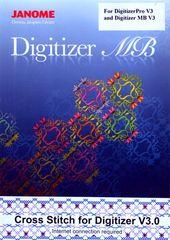 Janome Cross Stitch for Digitizer Pro V3 and Digitizer MB V3