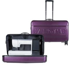 Janome Horizon Hard Roller Case MC14000/MC15000