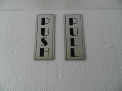 NPW2027 PUSH-PULL Corporate Signage