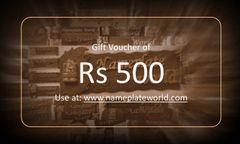Gift Voucher of Rs 500