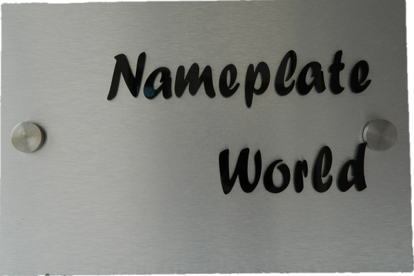 Home Name Plate Door Name Plate Nameplate Acrylic Nameplate