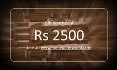 Gift Voucher of Rs 2500